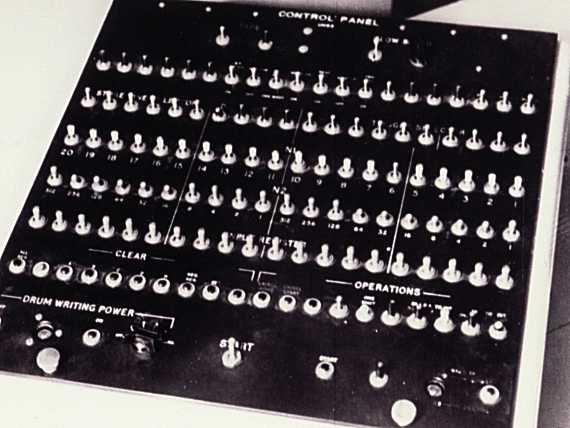 CSIRAC Console